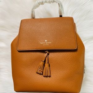 Kate spade medium backpack Hayes warm ginger new